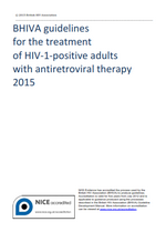 British HIV Association guidelines for the treatment of HIV-1-positive adults with antiretroviral therapy 2015